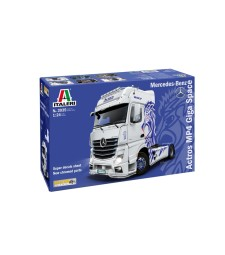 1:24 Mercedes-Benz ACTROS MP4 Giga Space