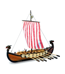 1:75 New Viking  - Wooden Model Ship Kit