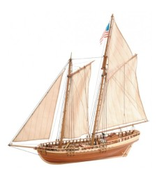 1:41 Virginia American Shooner - Wooden Model Ship Kit