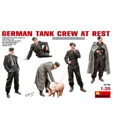 1:35 German Tank Crew at Rest - 6 figures