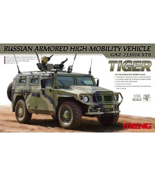 1:35 Russian Armored High-Mobility Vehicle GAZ 233014 STS