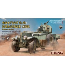 1:35 British Rolls-Royce Armoured Car