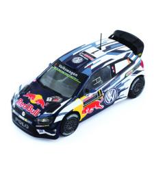 VW Polo R WRC No.1 - Volkswagen Motor Sport, Red Bull, Rallye WM, Rallye Australia - S.Ogier & J.Ingrassia