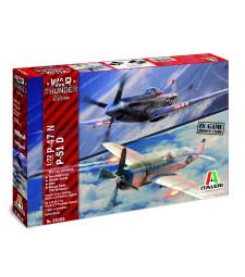 1:72 War Thunder: P-47N / P-51D
