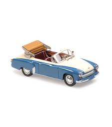 WARTBURG A 311 CABRIOLET - 1958 - GREY/WHITE – MAXICHAMPS