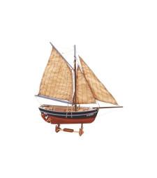 1:25 Bon Retour - Wooden Model Ship Kit