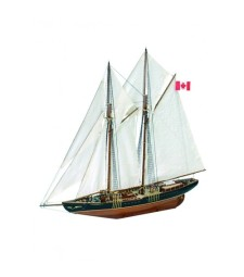1:75 Bluenose II - Wooden Model Ship Kit