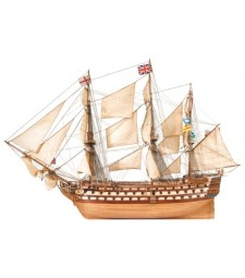 1:84 HMS Victory- Wooden Model Ship Kit