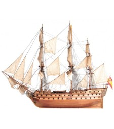 1:90 San Juan Nepomuceno - Wooden Model Ship Kit