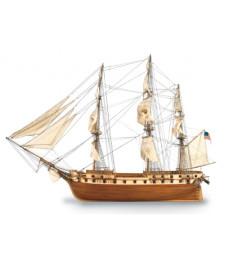 1:85 US Frigate 1798 Constellation - Wooden Model Ship Kit