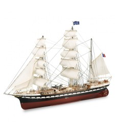 1:75 French Training Ship Belem - Wooden Model Ship Kit