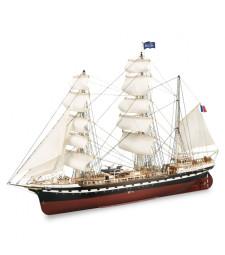 1:75 French Training Ship Belem - Wooden Model Ship Kit