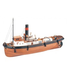 1:50 Steamer Ssanson- Wooden Model Ship Kit