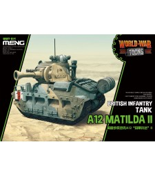 World War Toons A12 Matilda II - snap-fit