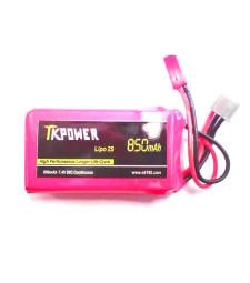 Lipo battery 7.4V 850mAh 2cell