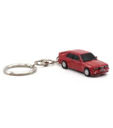 KEY CHAIN BMW E30 M3 RED