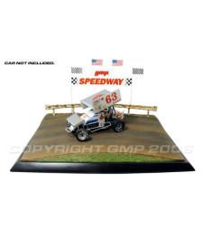 Hot Laps Dirt Track Diorama