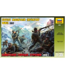 1:35 SOVIET MOUNTAIN TROOP WWII - 6 figures