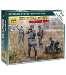 1:72 GERMAN HQ WWII - 4 figures
