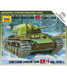 1:100 Soviet Heavy Tank KV-1