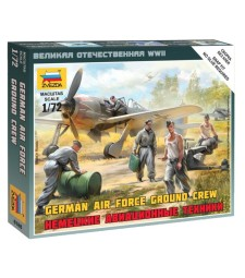 1:72 German airforce ground crew - 5 figures