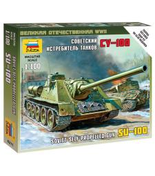 1:100 SELF-PROP.GUN SU-100
