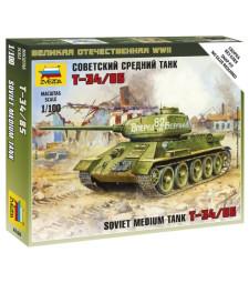 1:100 Soviet Tank T-34-85