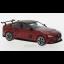 Jaguar XE SV Project 8, metallic-dark red