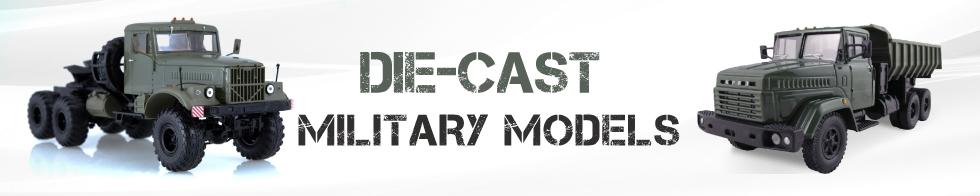 4 x 4 Die-cast, Metal scale model cars